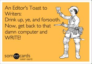Editor deadline