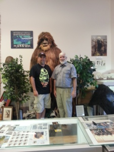 Me, Loren and my favorite hairy dude
