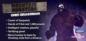 Mountain monsters creature