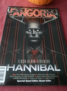 This is the cover of the new issue. Pretty creepy.