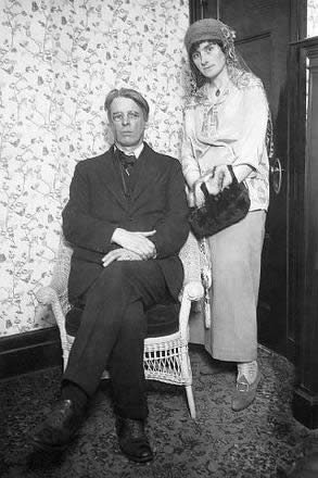 pic 5 - W.B. Yeats and wife Georgie