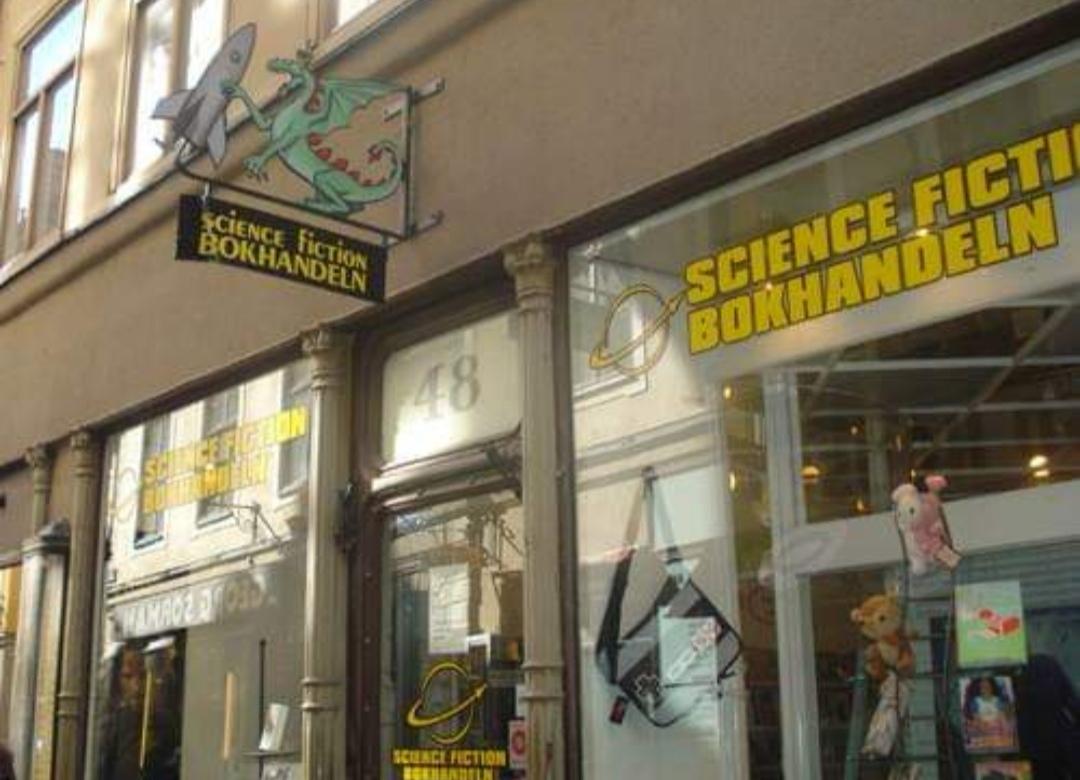 Swedish bookstore